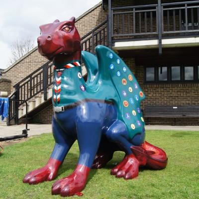 Bajestic - The Norfolk Scouts Dragon