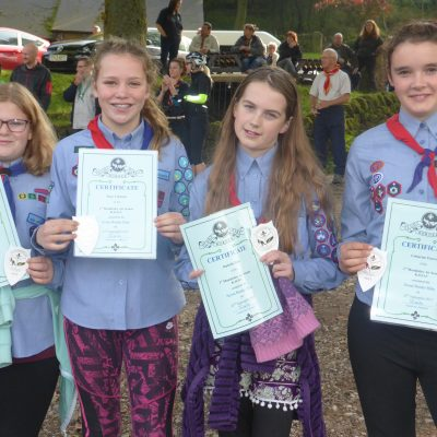 1st Mundesley Air Scouts Flying High!