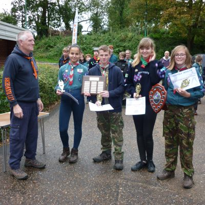 County Scout Shooting Competition 2017