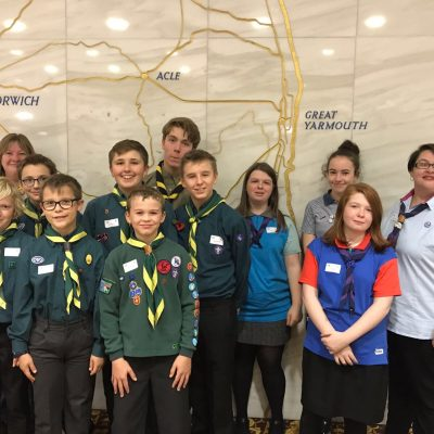 Scouts and Guides lead conversations