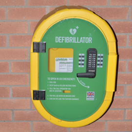 Bidwell Centre receives AED
