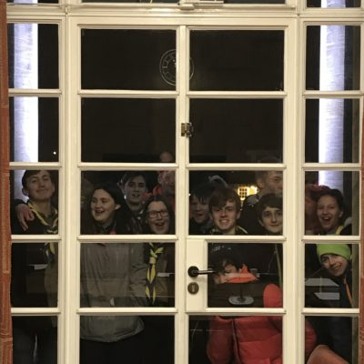 Nine new members invested on City Hall balcony