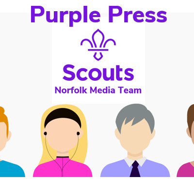 Norfolk Media Team Goes Purple