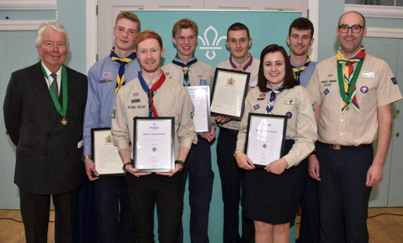 Queen Scout Award / Norfolk Scouts / Providing fun