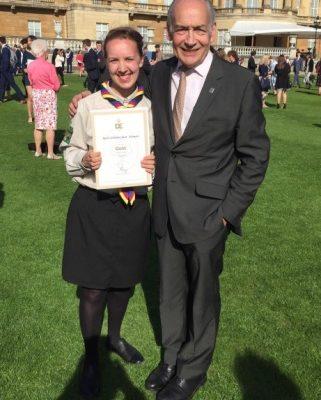 Ruth goes to Buckingham Palace 👑