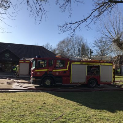 Iceni House Fire