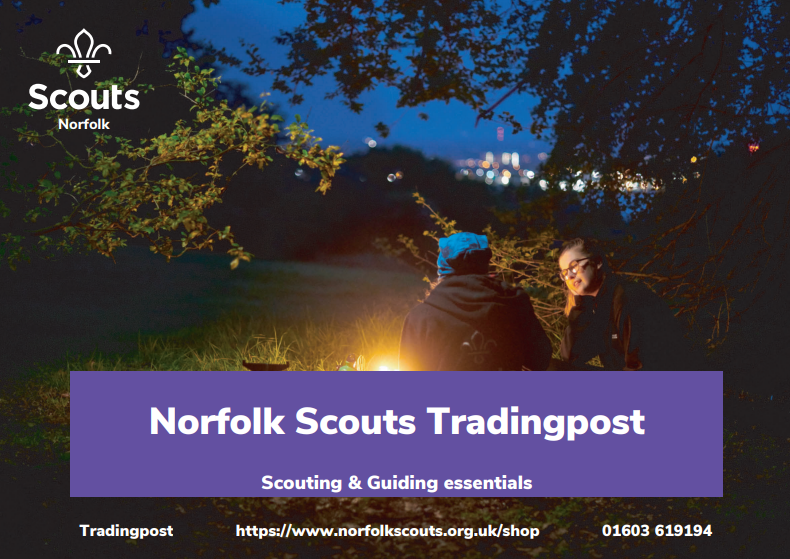 Norfolk Scouts Trading Post Poster
