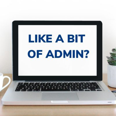 We're looking for a training administrator